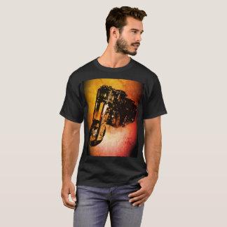 スクラップのバイクのTシャツ Tシャツ
