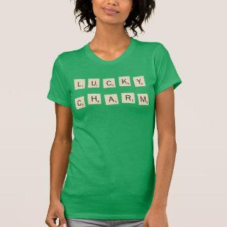 スクラブル|の幸運なチャーム Tシャツ