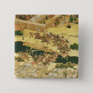 スクリーンからのHogenの戦い 5.1cm 正方形バッジ
