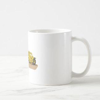 スクレーパーのトラック コーヒーマグカップ