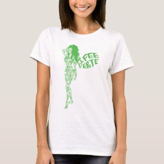 スクロールされたLa料金Verte Tシャツ
