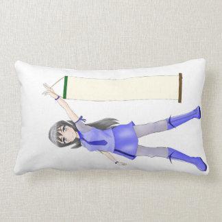 スクロールベッド枕を持つカスタマイズ可能な日本製アニメの女の子 ランバークッション