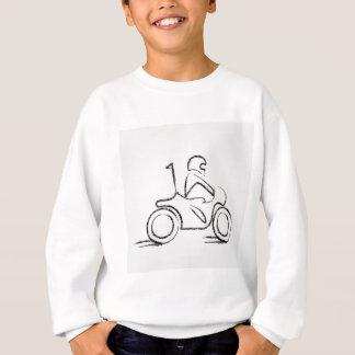 スクーターの人 スウェットシャツ