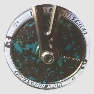 スクーターの車輪 ラウンドシール