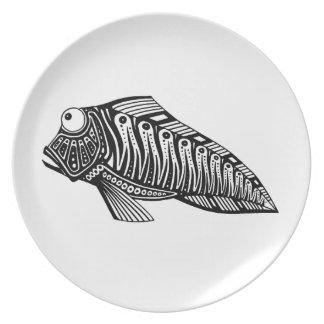 スクーター魚 プレート