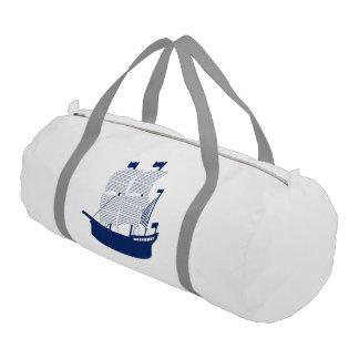 スクーナー船海軍 ジムバッグ