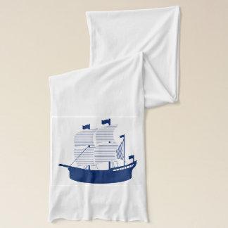スクーナー船海軍 スカーフ