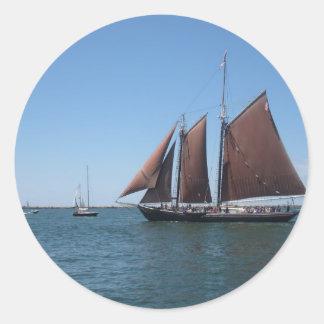 スクーナー船 ラウンドシール