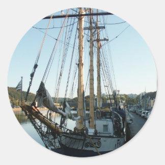 スクーナー船Frya ラウンドシール