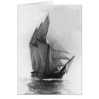 スクーナー船Mabelは上がりました カード