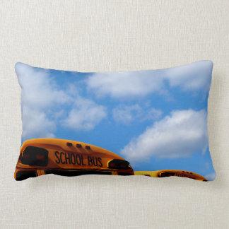 スクールバスの日の枕 ランバークッション