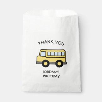 スクールバスの誕生日 フェイバーバッグ