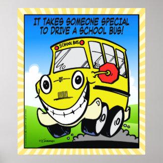 スクールバスの運転者 ポスター