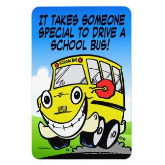 スクールバスの運転者 マグネット
