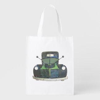 スケッチされた1947 GMCの小型トラックの買い物袋 エコバッグ