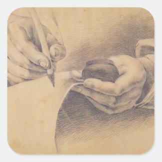 スケッチ手1798年 スクエアシール