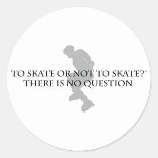 スケートにまたはスケートで滑らないため ラウンドシール