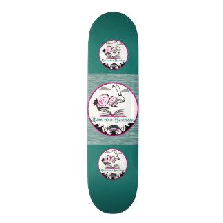 """スケートのデッキのタイプ: 7 ¾"""" RABBITHOLEの手引 19.7CM スケートボードデッキ"""