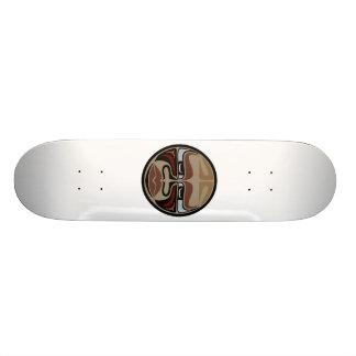 スケートのデッキ: バッファローのマスク 19.7CM スケートボードデッキ