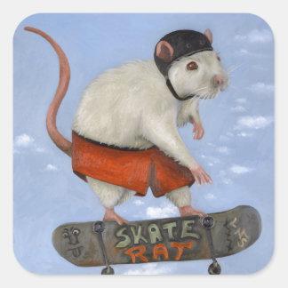 スケートのラット スクエアシール