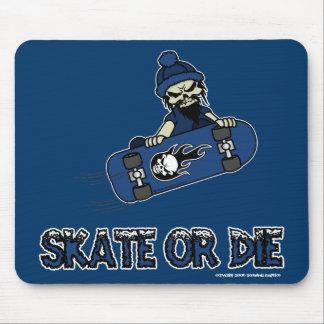 スケートはまたはマウスパッド死にます マウスパッド