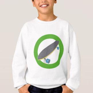 スケートボーダーのためのクールな板デザイン スウェットシャツ