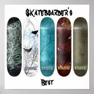 スケートボーダーのベスト ポスター