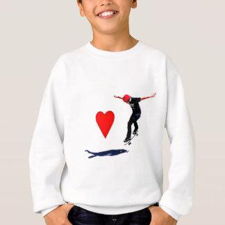 スケートボーダー スウェットシャツ
