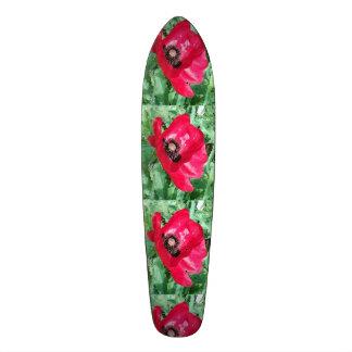 スケートボードのケシのデザイン スケートボード