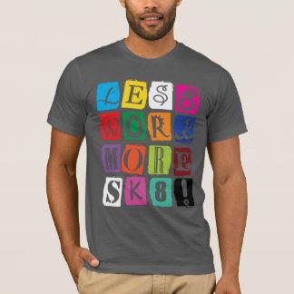 スケートボードのスピーチ Tシャツ
