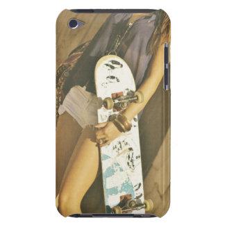 スケートボードの女の子のIPodの箱 Case-Mate iPod Touch ケース