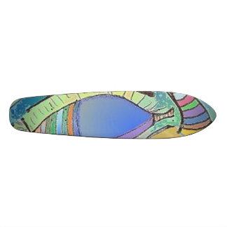 スケートボードの目のデザイン スケボー