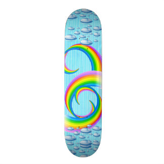 スケートボードカラフルのスタイリッシュなデザイン スケートボード