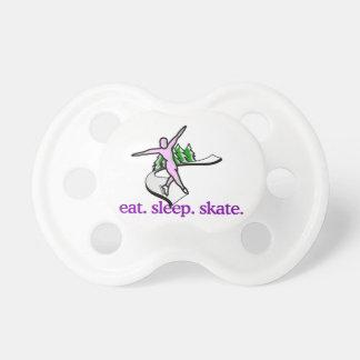 スケート場面 おしゃぶり
