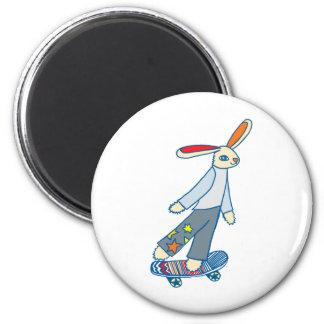 スケート選手のバニー マグネット