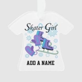スケート選手の女の子 オーナメント