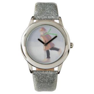 スケート選手の芸術の勉強 腕時計