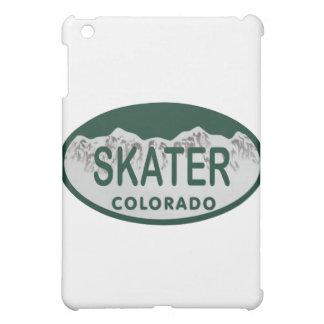 スケート選手免許証の楕円形 iPad MINIケース