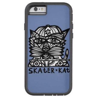 """""""スケート選手Kat""""の堅いXtreme電話箱 Tough Xtreme iPhone 6 ケース"""