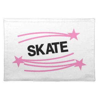 スケート ランチョンマット