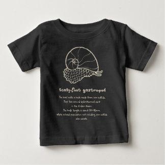 【スケーリーフット(ベージュ)】 Scaly-foot gastropod (Beige) ベビーTシャツ