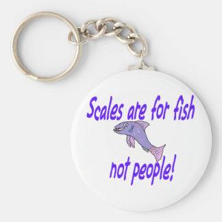 スケールは魚のためです キーホルダー