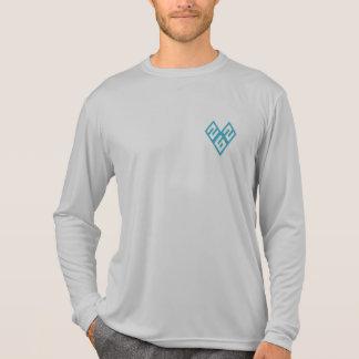 スコアの分隊のスポーツTekのワイシャツ Tシャツ