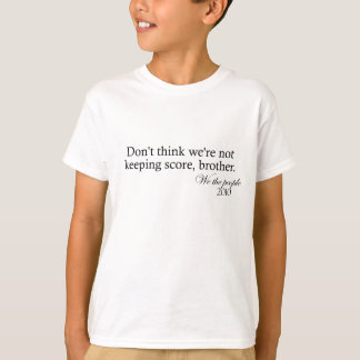 スコアを保つこと Tシャツ
