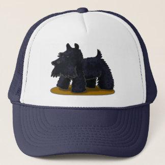 スコッチテリアのトラック運転手の帽子 キャップ
