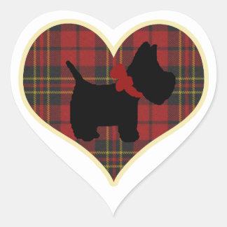 スコッチテリアの権利 ハートシール