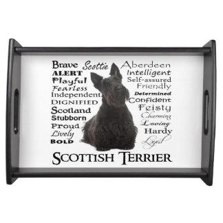 スコッチテリアの特性のトレイ