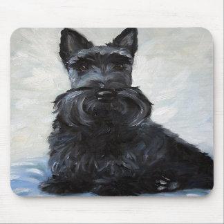 スコッチテリアスコットランドテリア犬のマウスパッド マウスパッド
