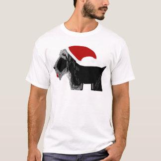 スコッチテリア犬サンタ! Tシャツ