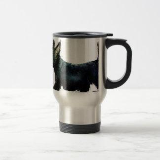 スコッチテリア犬 トラベルマグ